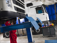 TRP Truck trailer parts workshop